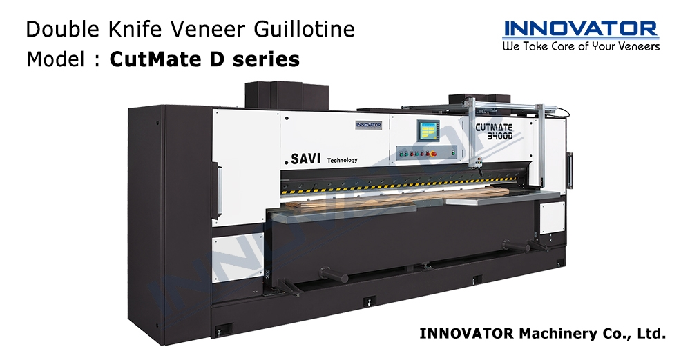 Double Knife Veneer Guillotine