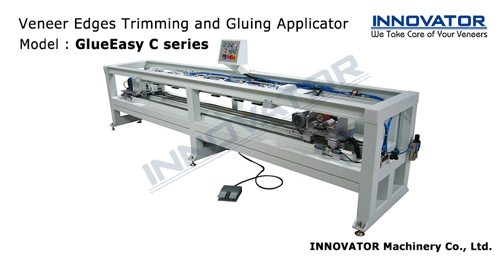 Veneer Edges Trimming and Gluing Applicator