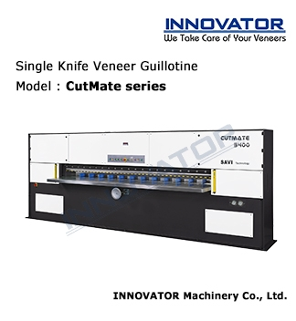 Single Knife Veneer Guillotine